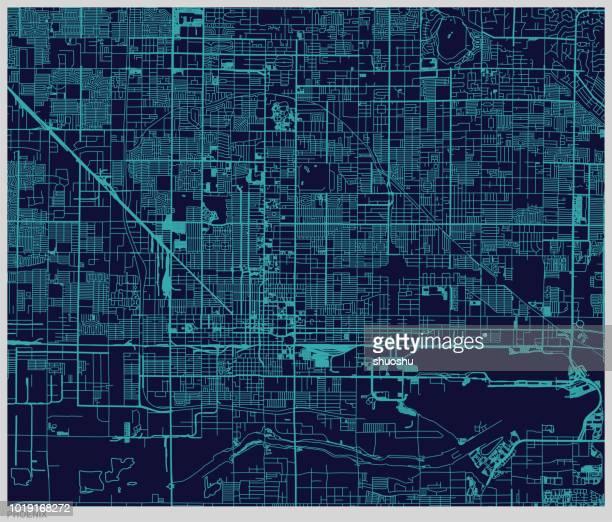 vector phoenix city map pattern - phoenix arizona stock illustrations