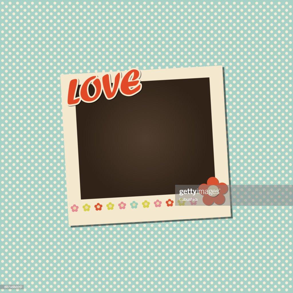 Vector photo frame