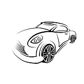 Vector picture of the car emblem.