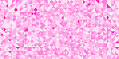 Vector pink abstraction seamless pattern. Woman style background