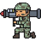 vector pixel art cartoon