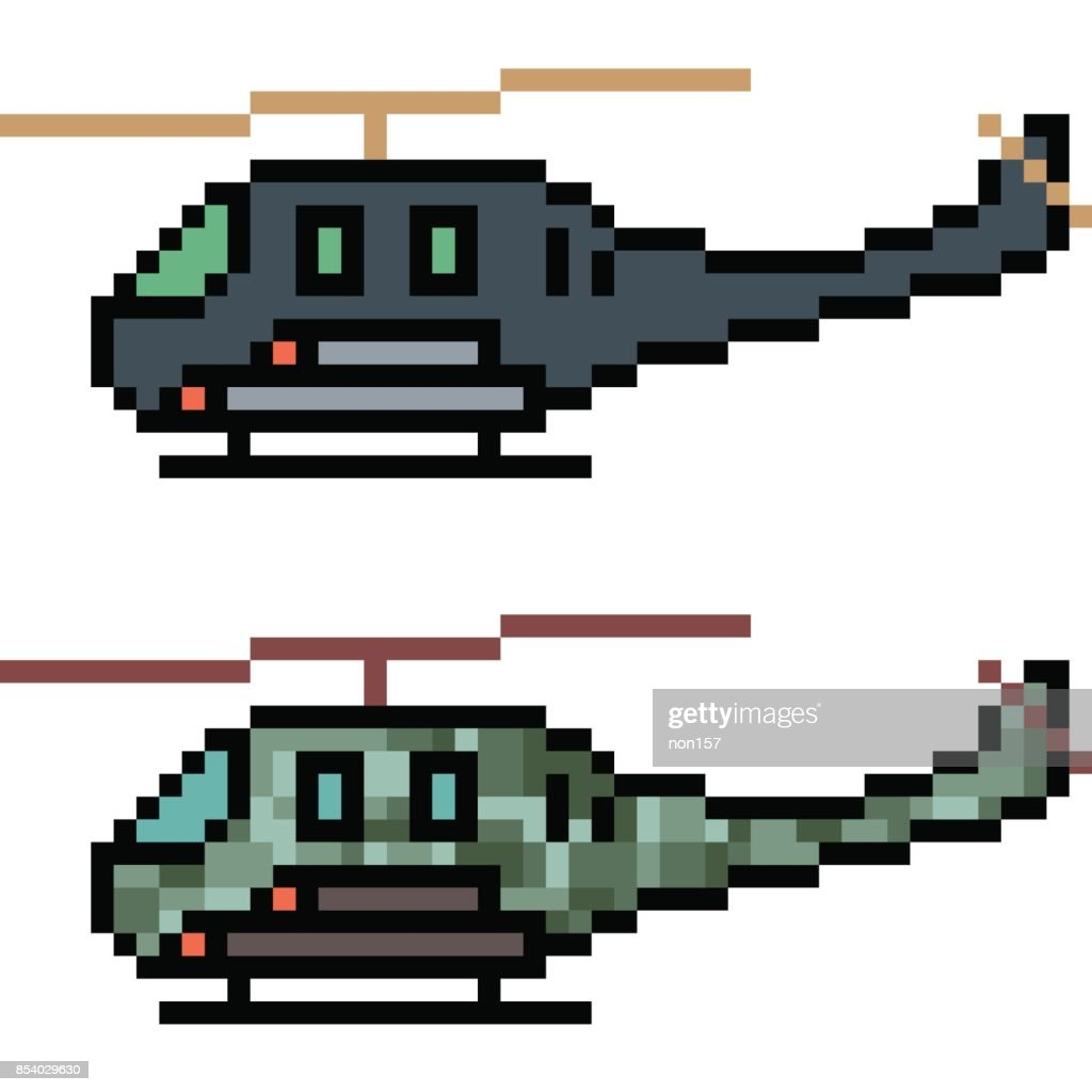 vector pixel art cartoon