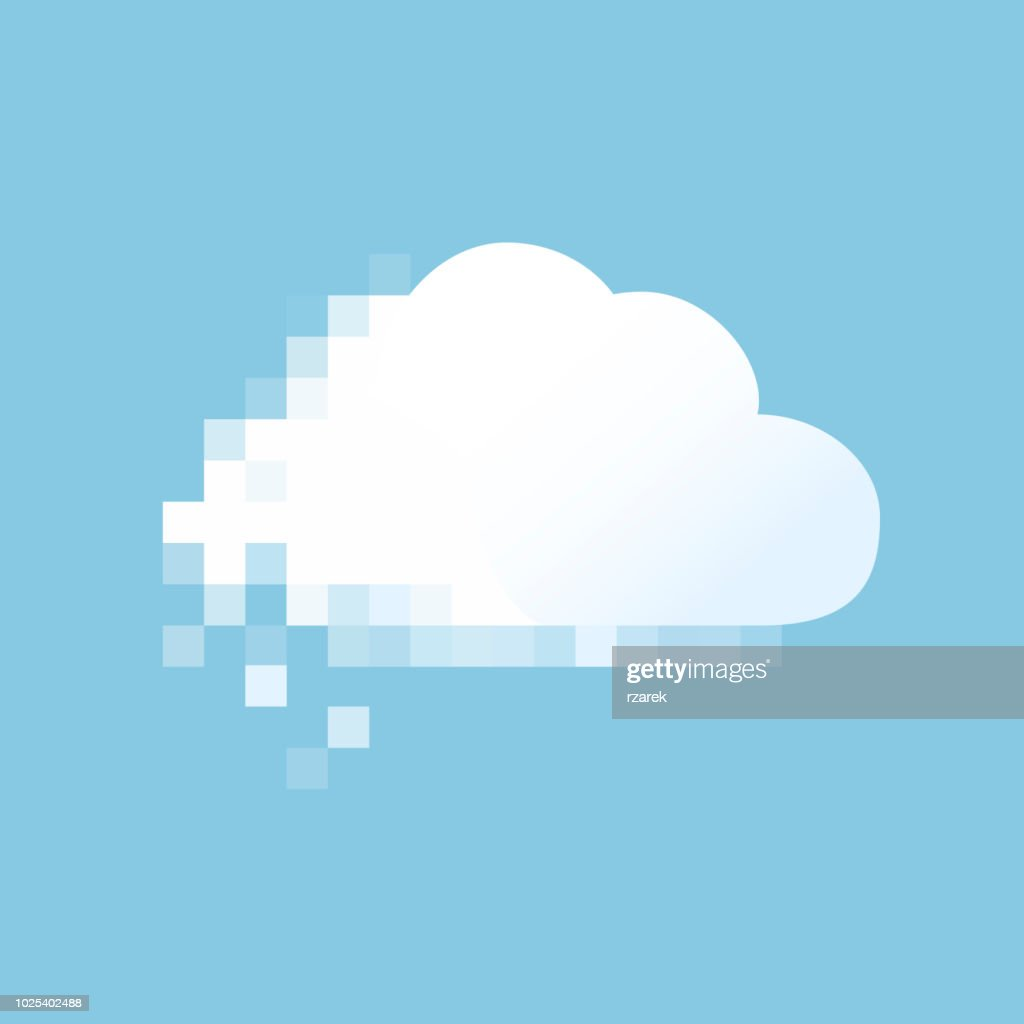 Vector pixel cloud.