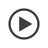 Vector Play Button Icon
