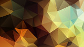 vector polygon rectangle background triangle pattern in yellow brown orange color