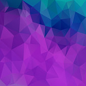 vector polygon square background triangle pattern in ultra violet blue color