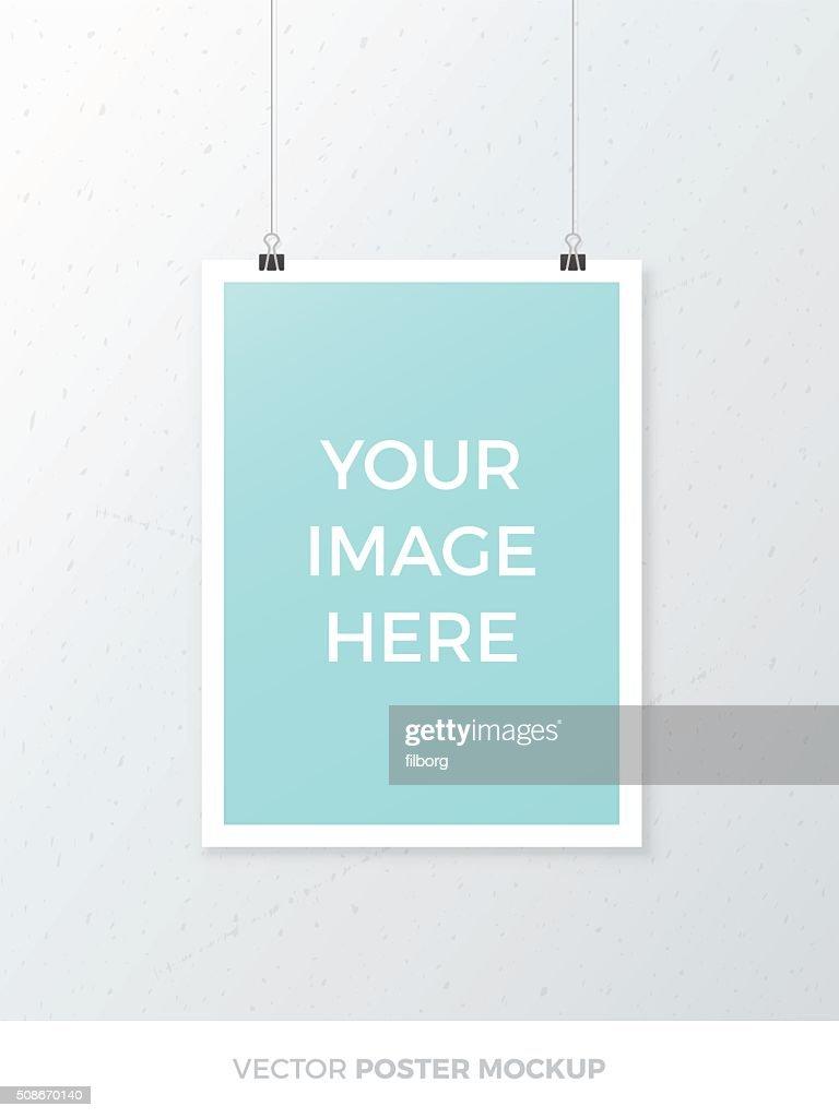 Vector Poster Mockup