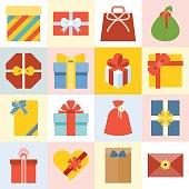 Vector presents box