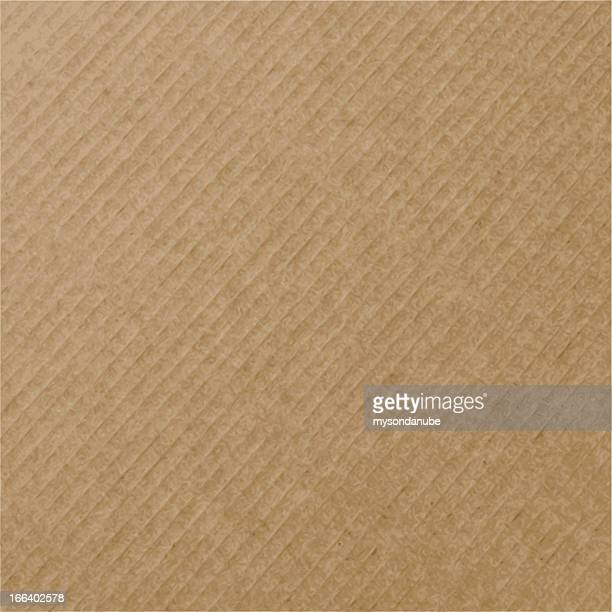 vector realistic cardboard texture - brown stock illustrations