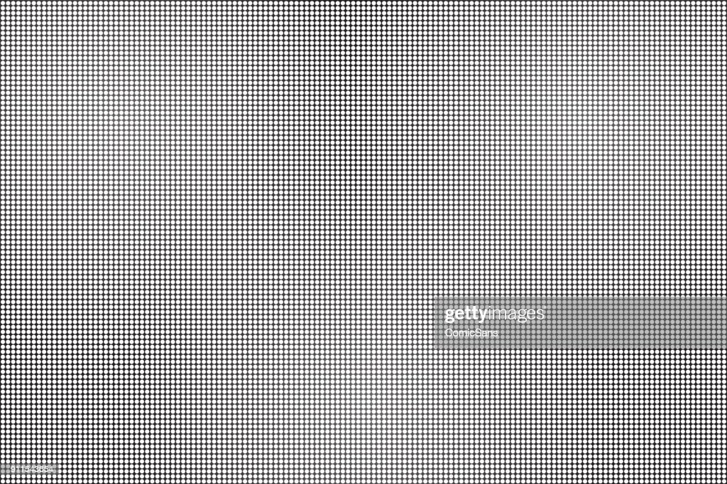 Vector realistic isolated LED screen background for decoration and covering.