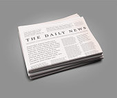 Vector realistic newspaper.