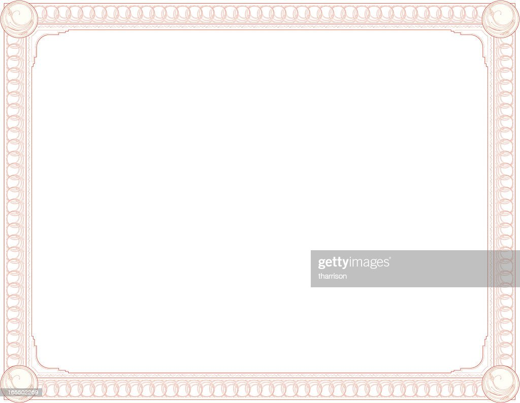 Vector red certificate border vector art getty images vector red certificate border vector art 1betcityfo Images