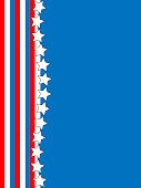 EPS8 Vector Red White Blue Star Striped Background