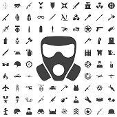 Vector respirator Icon