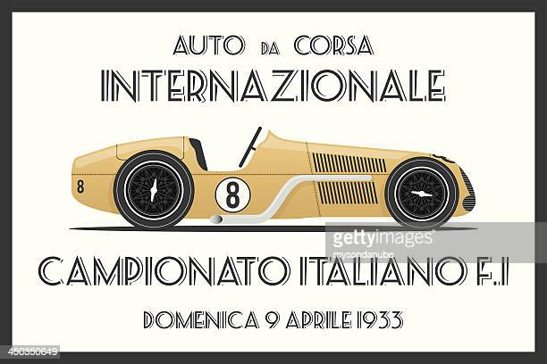 vector retro style tin poster or sign background - rally car racing stock illustrations, clip art, cartoons, & icons
