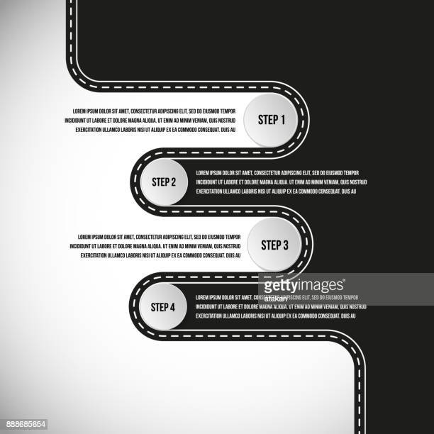 Vector road graph templates