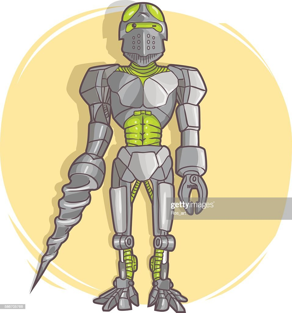 Vector Robot Stock Illustration - Getty Images