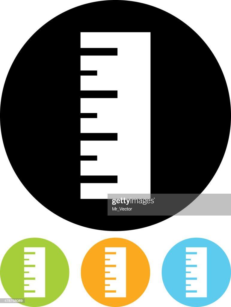 Vector ruler icon