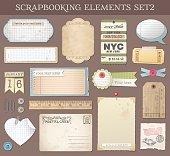Vector Scrapbooking Elements Set 2