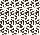 Vector seamless background. Repeating modern monochrome grid pattern.