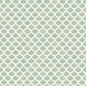Vector seamless background with fish scales. Natural abstract pattern