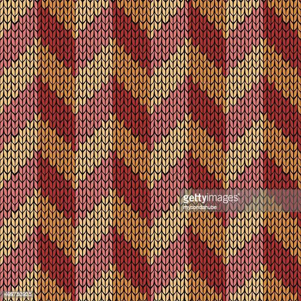 vector patrón de tejido sin costuras