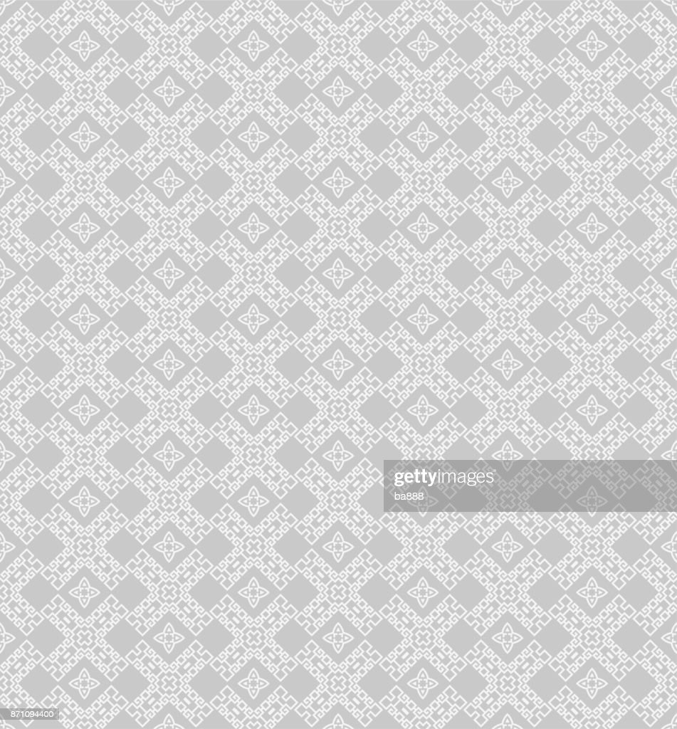 vector seamless pattern grey background