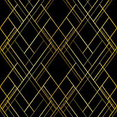 Vector seamless pattern. Luxury cross lines background