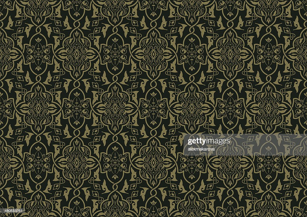 Vector Seamless Pattern : Vector Art