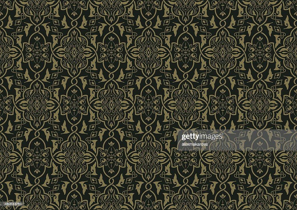 Vektor Nahtlose Muster : Vektorgrafik