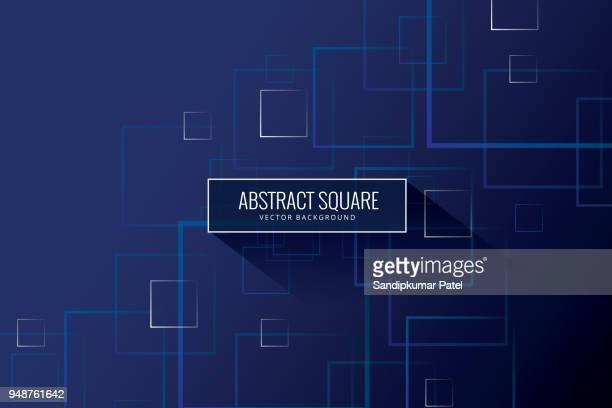 vector seamless pattern - square stock illustrations