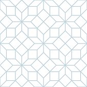 Vector seamless soft white geometric tracery pattern