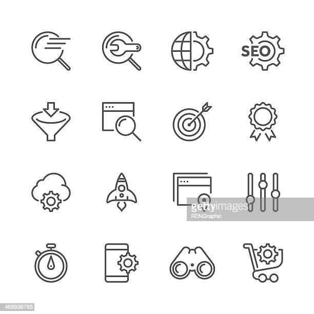 Vector SEO Concept | Line icon Series
