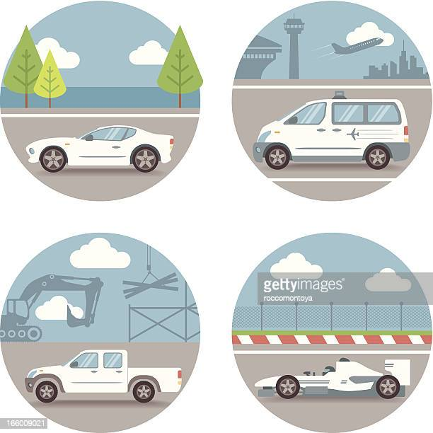 Vector Set, Car scenes