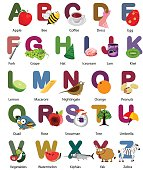 vector set of alphabets