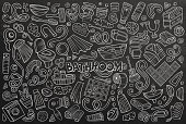 Vector set of Bathroom objects