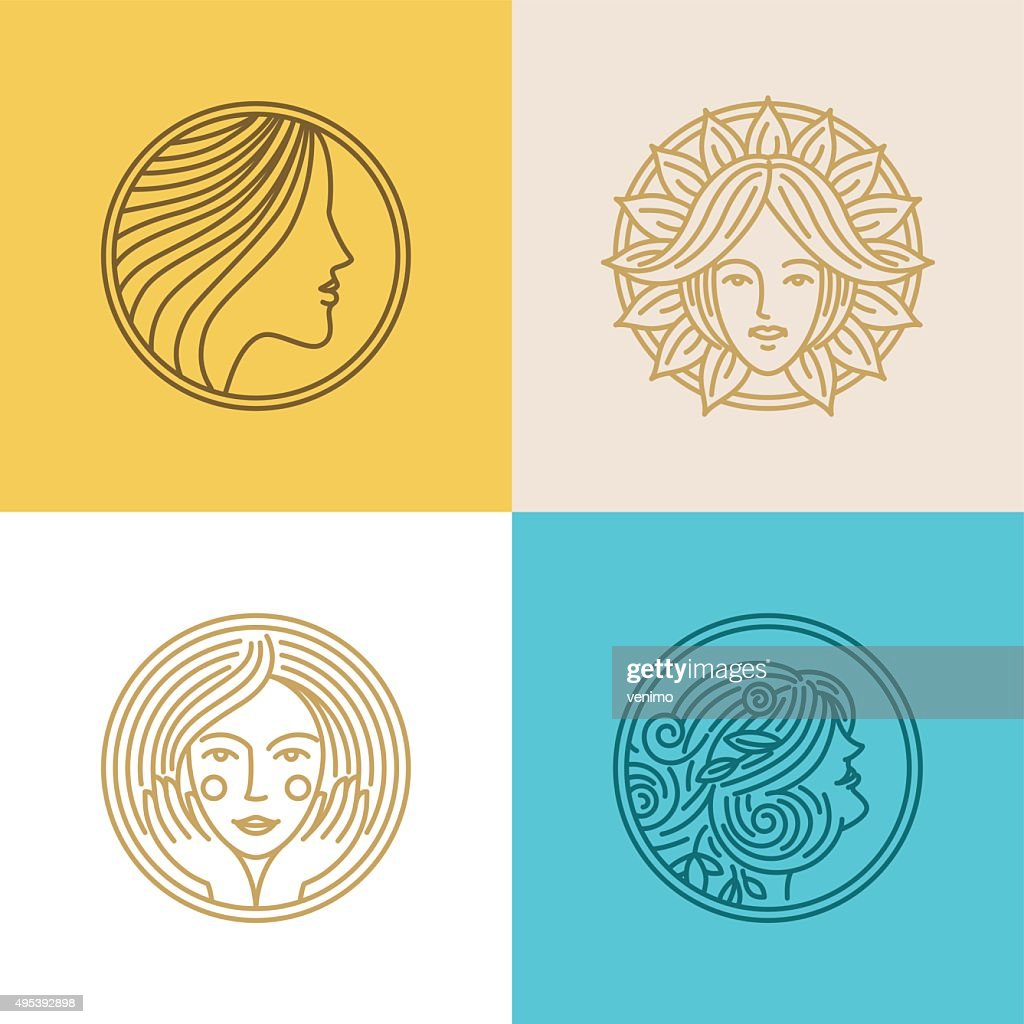 Vector set of logo design templates and abstract concepts