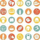 Vector Set of Mix Martial Arts Icons