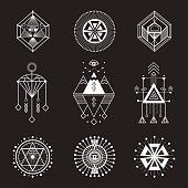 Vector set of sacred geometry