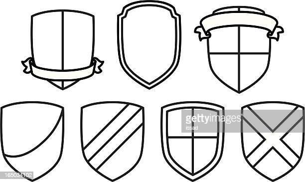 Vector Shield Crests #1