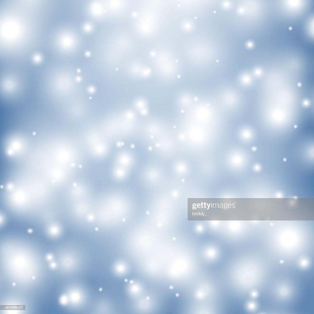 Vector Shiny Winter Backdrop