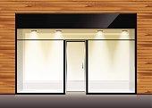 Vector Shop Boutique Store Front