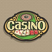 Vector sign for Casino