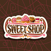 Vector sign for Sweet Shop