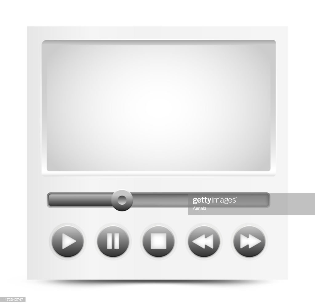 Vector simple video player interface