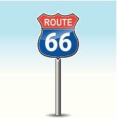 Vector sixty six road