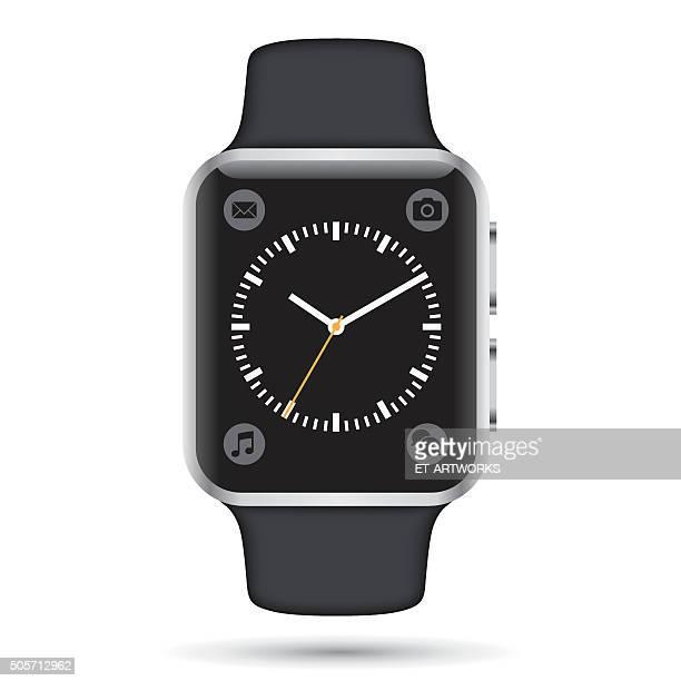 ベクトル smartwatch - 注視する点のイラスト素材/クリップアート素材/マンガ素材/アイコン素材