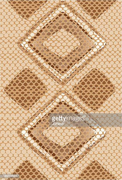 Vector Snake Skin Background