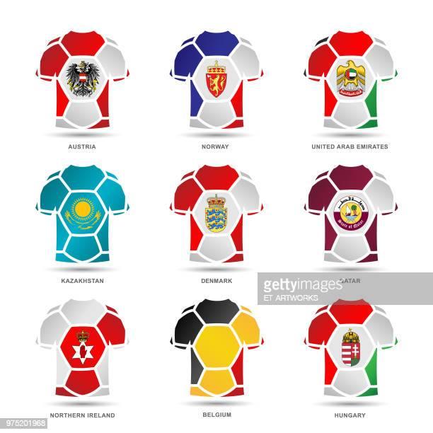 Vector Soccer Uniforms