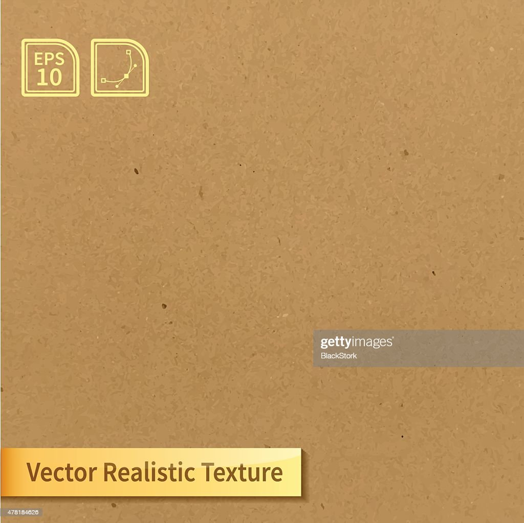 Vector soft clean cardboard texture. Photo texture for your design